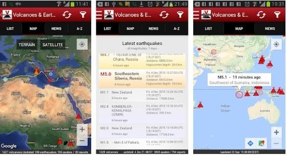Volcanoes Earthquakes 548c4