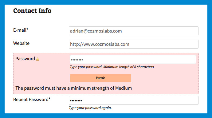 Woocommerce: How to Disable Strong Password