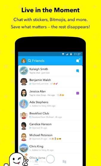 Snapcaht 57ea2 Alternative Chat Application