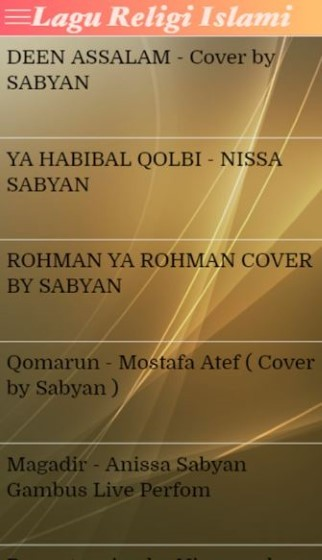 Application of Islamic Songs 1 E2fc2