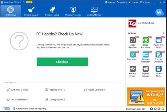 PC RAM Cleaner 1 87de8 Application