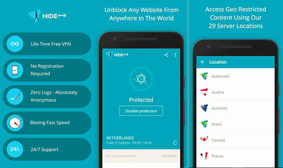 Free Android VPN Application Forever 6846c