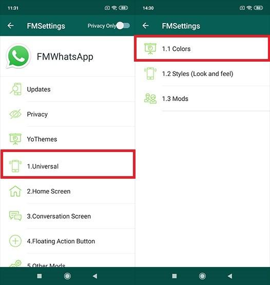 WhatsApp Application Transparent Method 2 6ae9a
