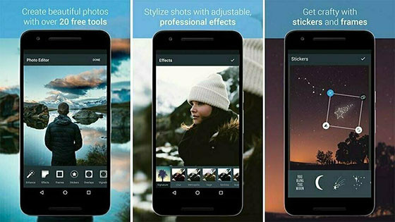 F19d4 Android Photo Editing Application