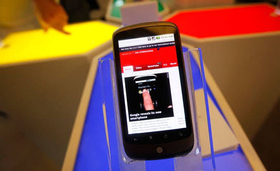 Google Nexus One 3deaa