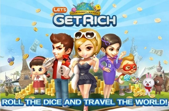 Get Lets Get Rich Custom Line B8df9