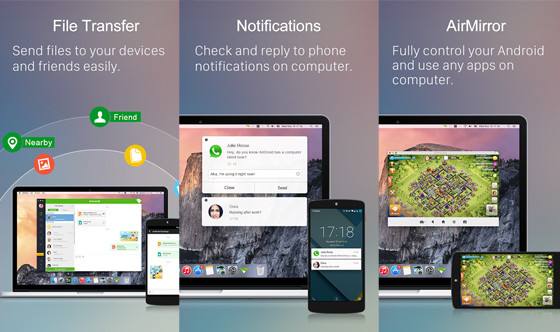 Airdroid 76725 Advanced Android Application