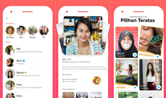 Applications Search for Indonesian dating, Tinder 228a5