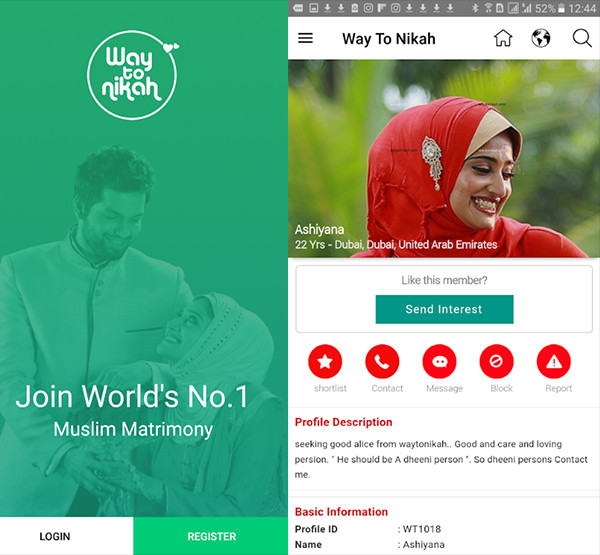 Application for Islamic dating 2 9bf3d