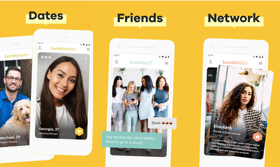 Application for Popular Dating Matching Bumble 82d5d
