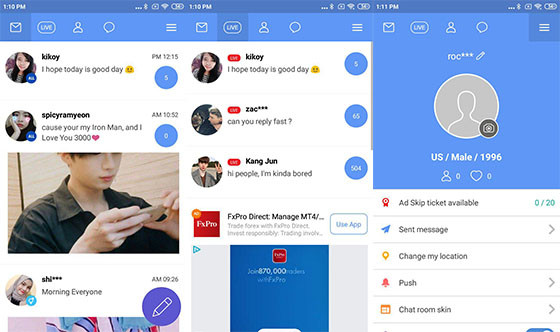 Daebak 7 Applications To Chat With The Best Korean People Make Find New Friends Apkvenue