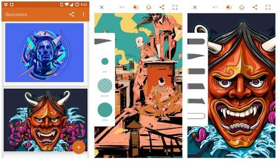 Android 4 A0036 Graphic Design Application
