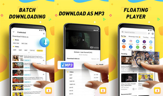 Snaptube 9b1c7 Fast Song Download Application
