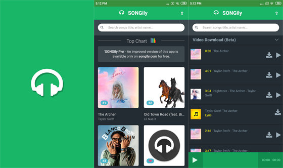 Songily 0d2cc Song Download Application