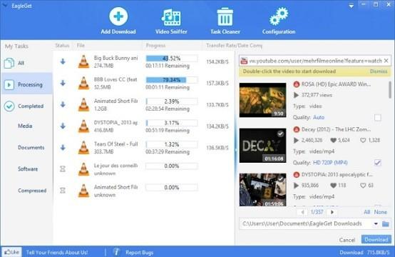The Best Downloader Application Besides Idm EagleGet B2aea
