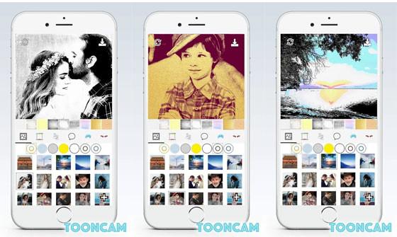 Tooncam 1cb6e Cartoon Photo Editing Application