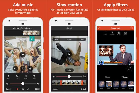 Lightweight Videoshop C9294 Android Video Edit Application