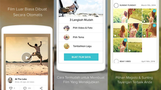 Video editing application for iPhone Magisto F7b3e