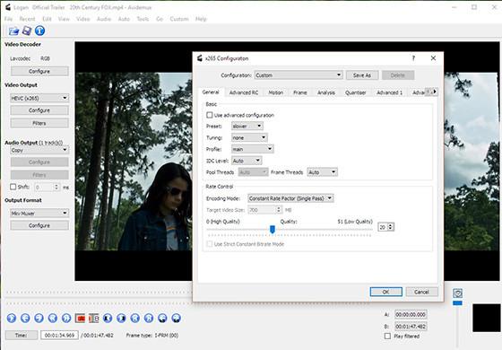Avidemux 70935 Lightweight Pc Video Editing Application