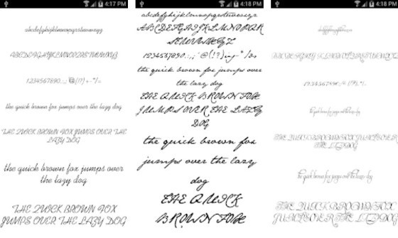 Android Font Application 12 271ef