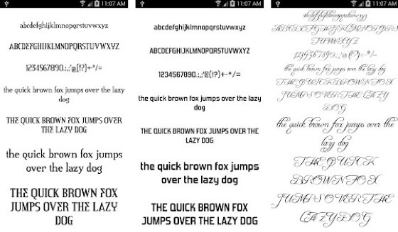 Android Font Application 2 14b27