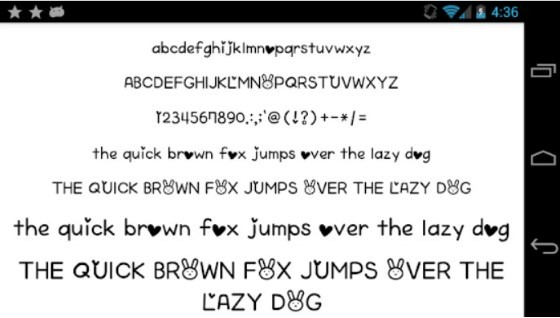 Android Font Application 4 84a14