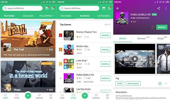 The Apkpure 65d58 Games application