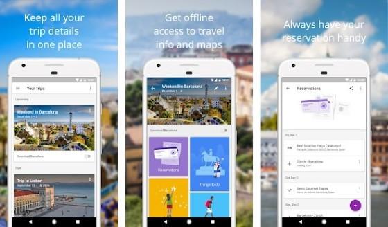 Google Trips F7ba8 application