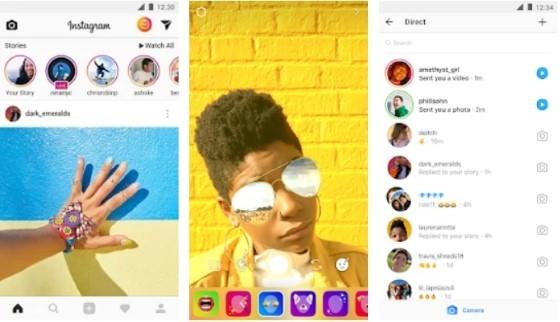 Instagram 1fa8e application