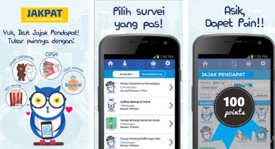 The Jakpat 2d505 application