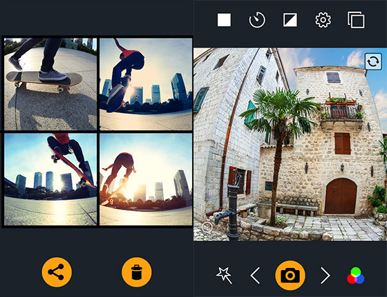 Convex Camera Application for Fisheye Lens Pro 012e8