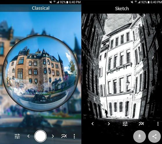 Gopro Fisheye Lens Instagram Camera Application E7ef5