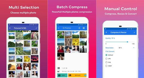 Ebc08 10 Android Photo Compress application