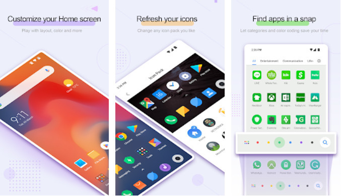 Best Android Launcher application 4 11c29