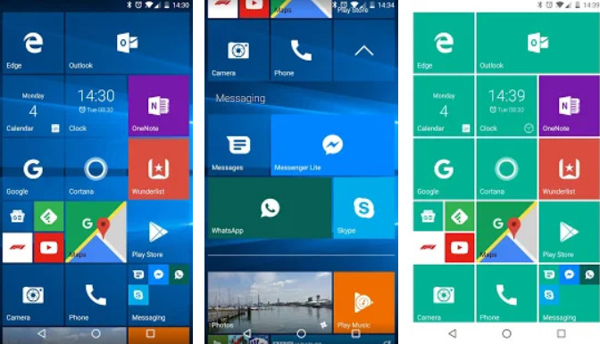 The Best Android Launcher application 6 F1a3a