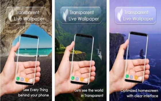 Transparent Screen Application 6 8e23c