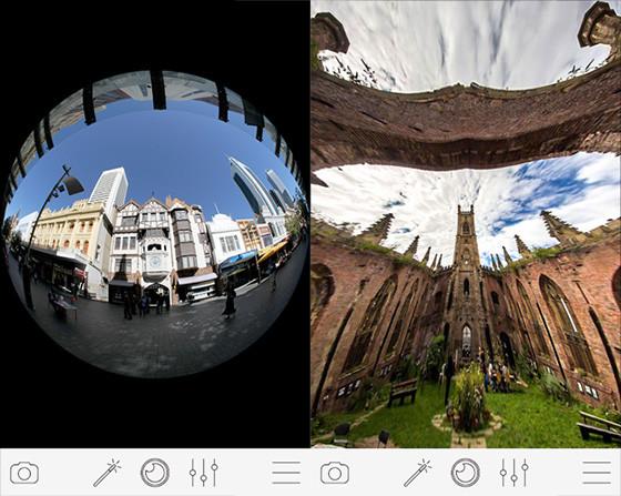 Fisheye Cbe73 Convex Lens Application