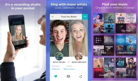 Smule D9fc7 Online Song Lyrics Application