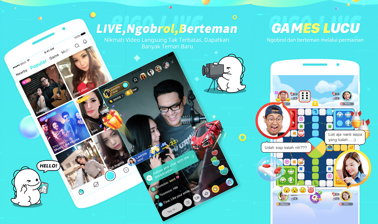 Bigo 44223 Live Streaming Application