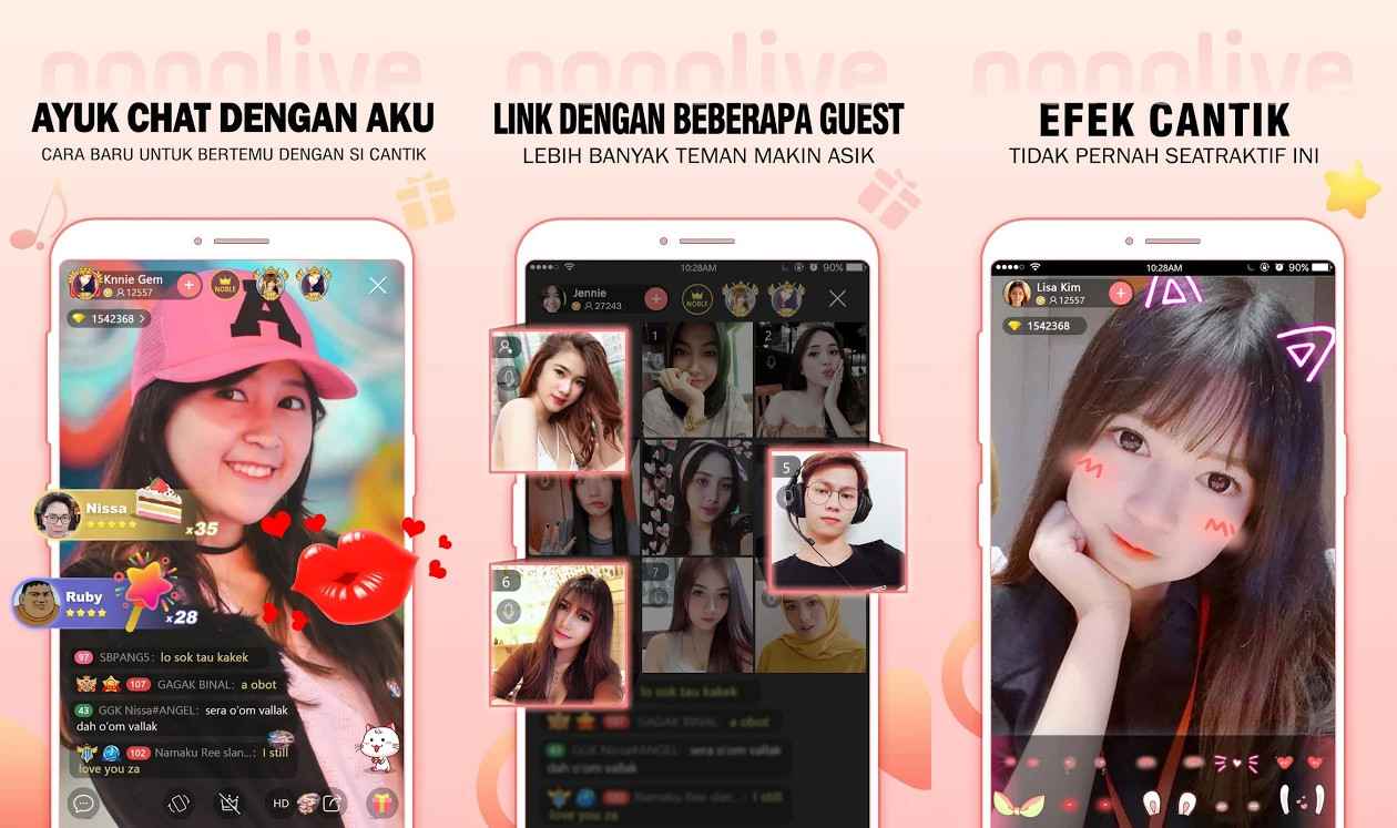 Live Streaming Application No Banned Nonolive Ffdb8