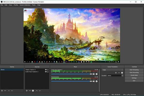 Obs 8f139 Screen Recording Application