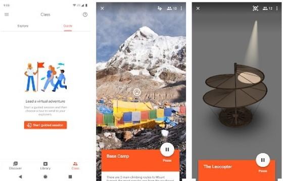 Google Expedition's Secret Application 712b5