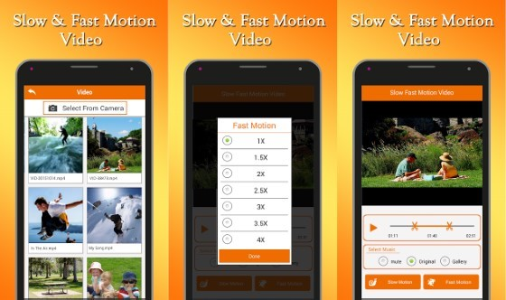 Free Slow Motion application Fastnslwo Ccd0b