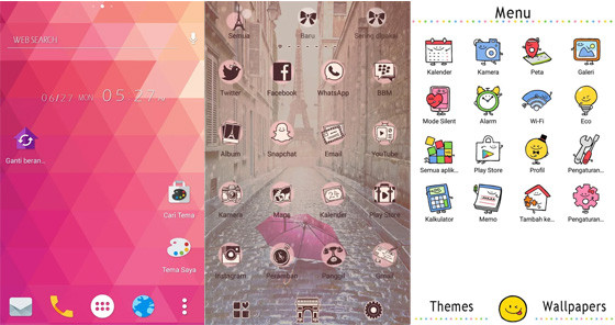 Android Home Launcher Fp438 Hp Theme Application