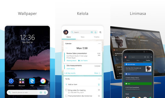 Microsoft Launcher C5d76 Android Mobile Theme Application