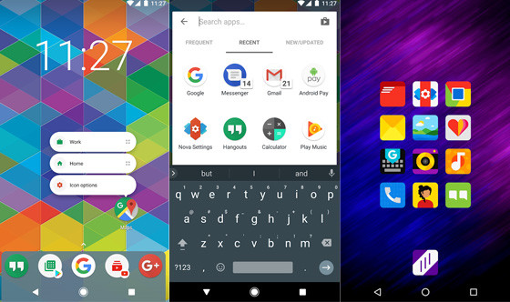 Nova Launcher 4fba0 Android Mobile Application Theme