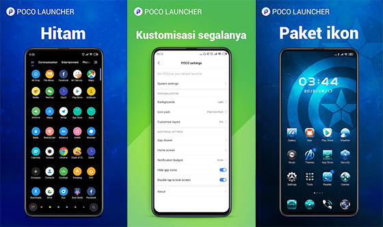The Poco Launcher 693ec Android Hp Theme Application