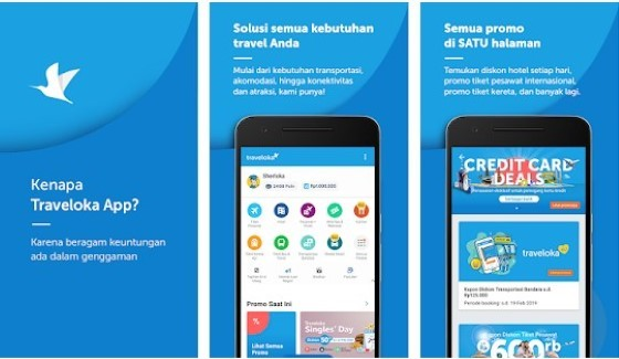 The Traveloka 62690 application