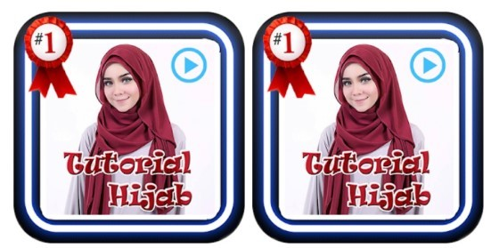 Ed9ab Hijab Rectangular Tutorial Application