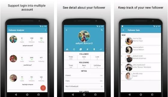 Unfollow Instagram Follower Analyzer For Instagram E6694 application